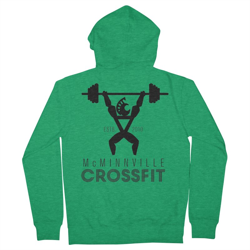 Petro McMinnville CrossFit Men's Zip-Up Hoody by McMinnville CrossFit Merch
