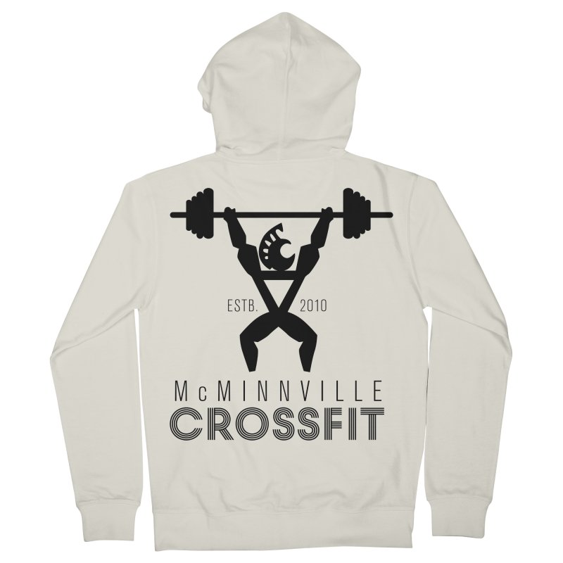 Petro McMinnville CrossFit Women's French Terry Zip-Up Hoody by McMinnville CrossFit Merch