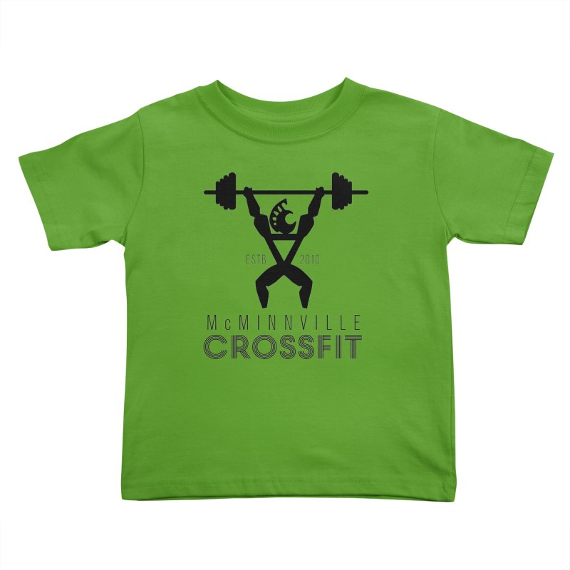 Petro McMinnville CrossFit Kids Toddler T-Shirt by McMinnville CrossFit Merch