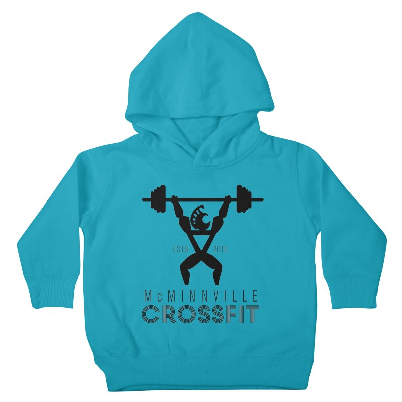 Petro McMinnville CrossFit Kids Toddler Pullover Hoody by McMinnville CrossFit Merch