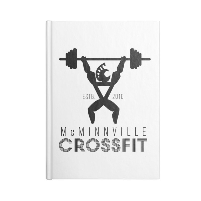 Petro McMinnville CrossFit Accessories Blank Journal Notebook by McMinnville CrossFit Merch