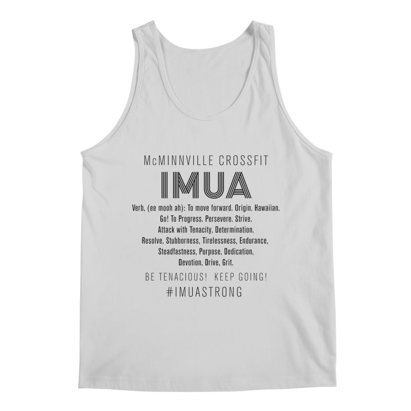 IMUA Definition Men's Regular Tank by McMinnville CrossFit Merch