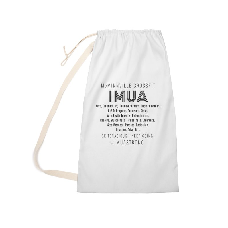 IMUA Definition Accessories Bag by McMinnville CrossFit Merch