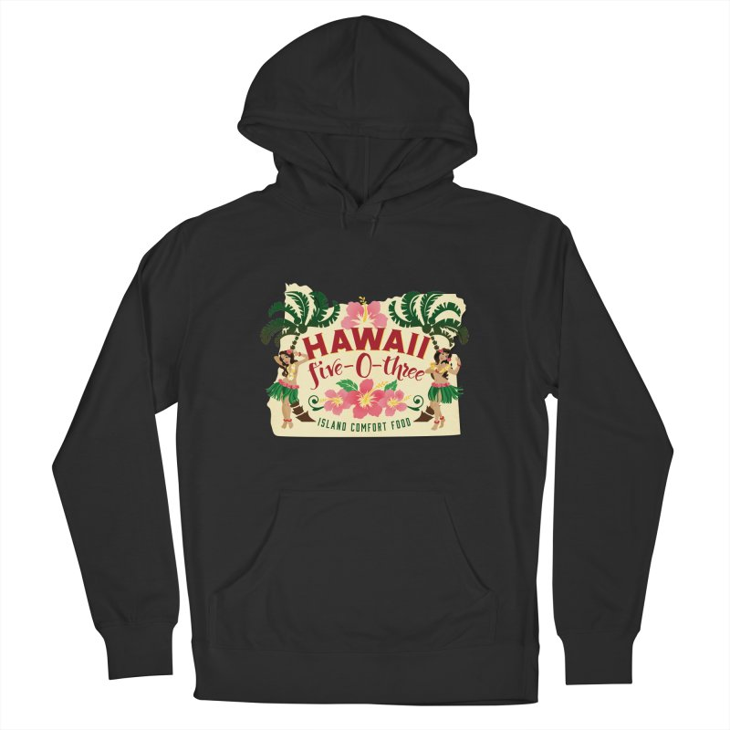 Hawaii Five-0-Three Men's French Terry Pullover Hoody by McMinnville CrossFit Merch