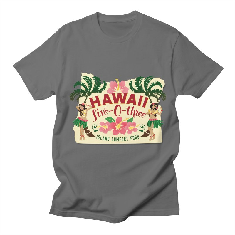 Hawaii Five-0-Three Men's T-Shirt by McMinnville CrossFit Merch