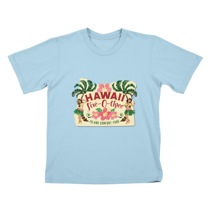 Hawaii Five-0-Three Kids T-Shirt by McMinnville CrossFit Merch