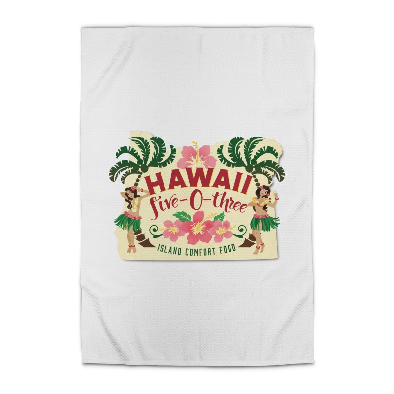 Hawaii Five-0-Three Home Rug by McMinnville CrossFit Merch