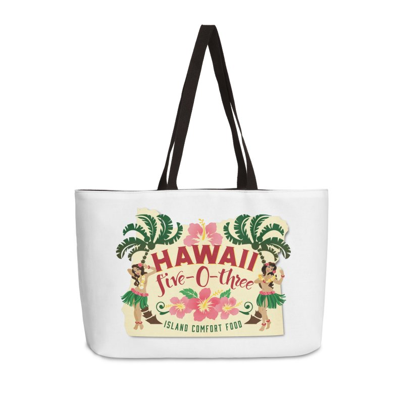 Hawaii Five-0-Three Accessories Weekender Bag Bag by McMinnville CrossFit Merch