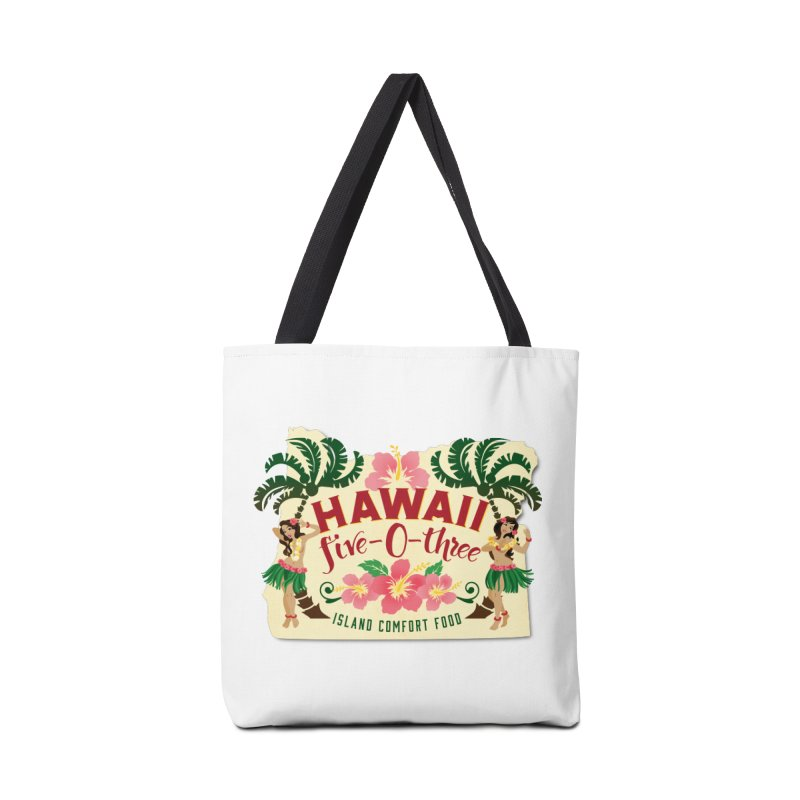 Hawaii Five-0-Three Accessories Bag by McMinnville CrossFit Merch