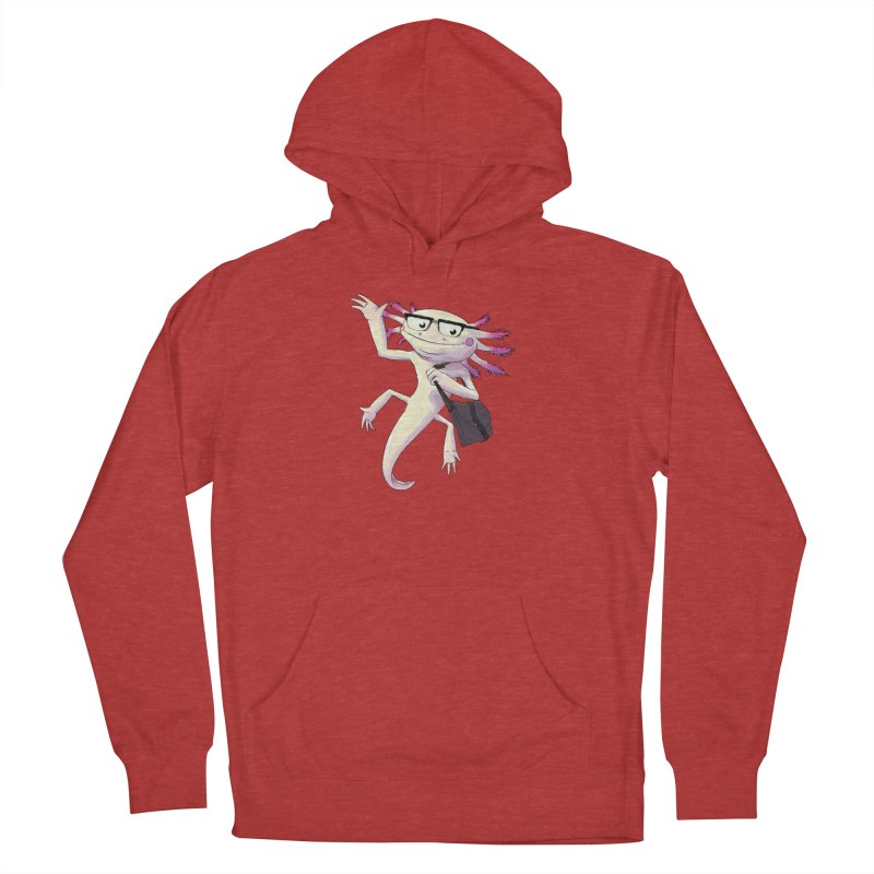 A is for Axolotl Women's Pullover Hoody by mcthrill's Artist Shop