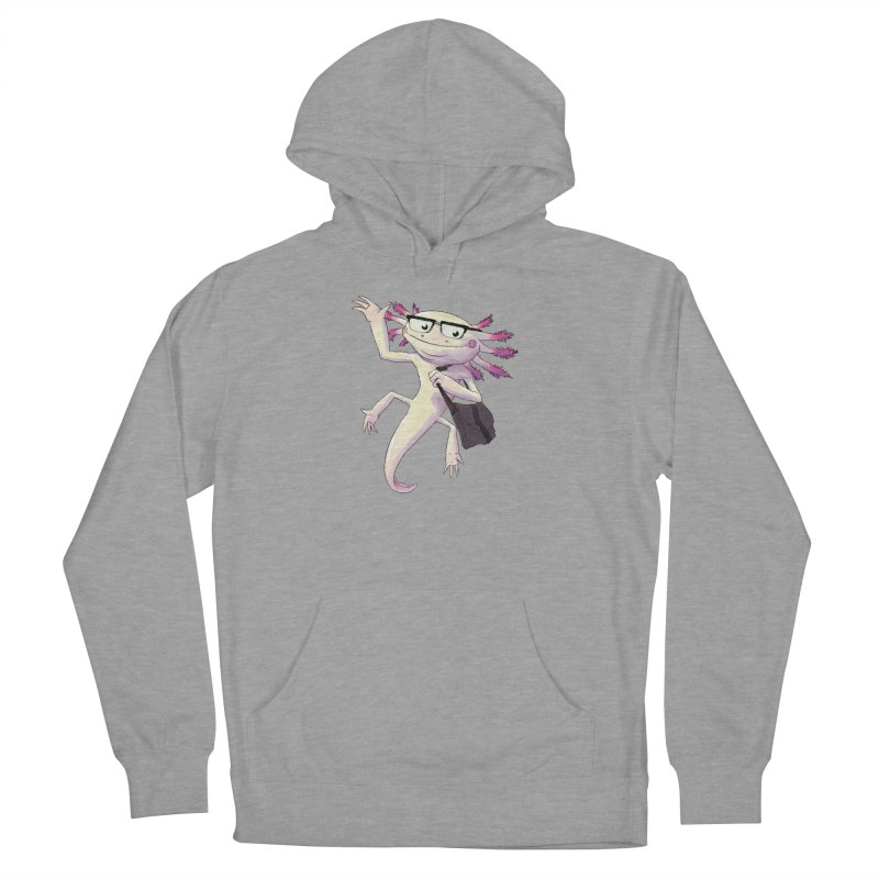 A is for Axolotl Men's Pullover Hoody by mcthrill's Artist Shop