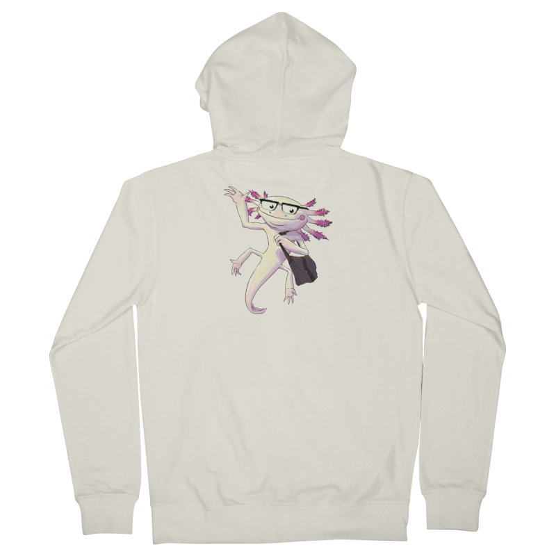 A is for Axolotl Women's Zip-Up Hoody by mcthrill's Artist Shop