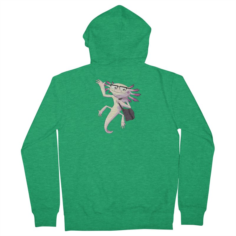 A is for Axolotl Men's Zip-Up Hoody by mcthrill's Artist Shop