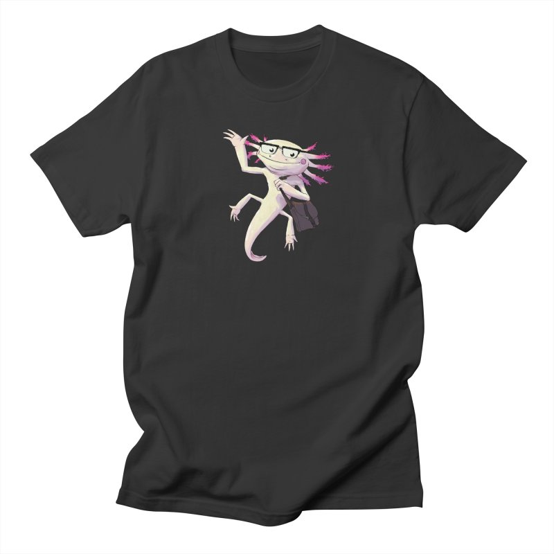 A is for Axolotl Men's T-shirt by mcthrill's Artist Shop