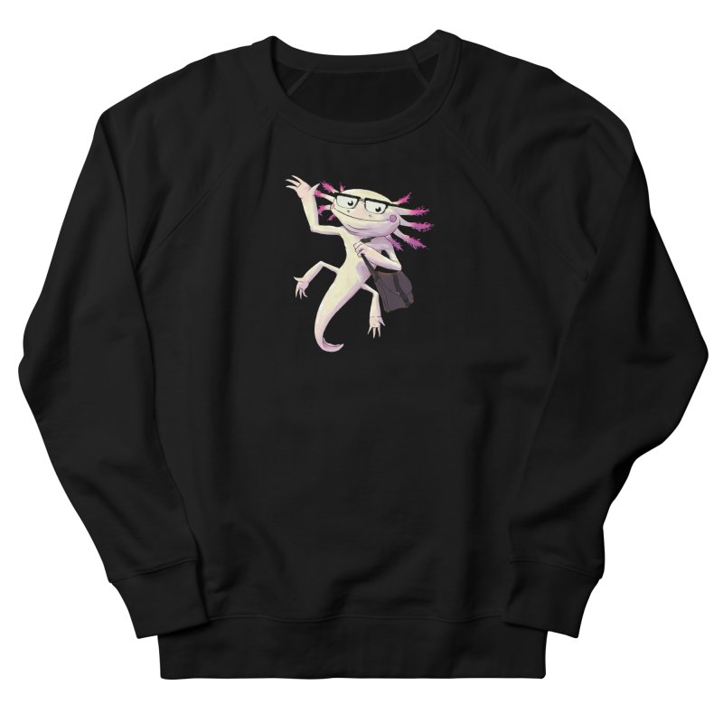 A is for Axolotl Women's French Terry Sweatshirt by mcthrill's Artist Shop