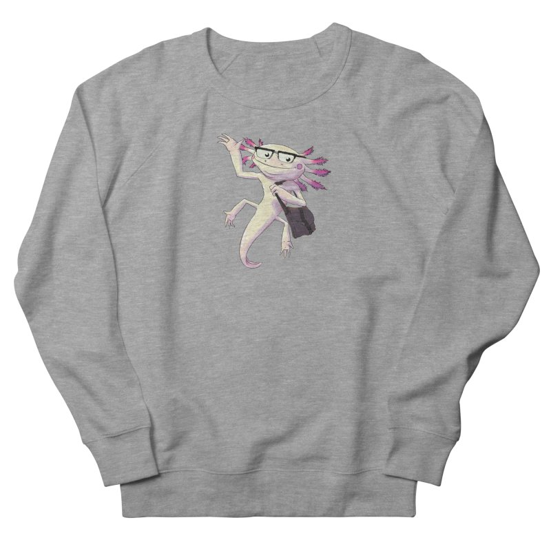 A is for Axolotl Men's Sweatshirt by mcthrill's Artist Shop