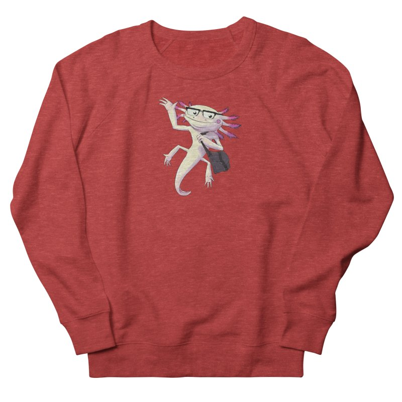 A is for Axolotl Men's French Terry Sweatshirt by mcthrill's Artist Shop