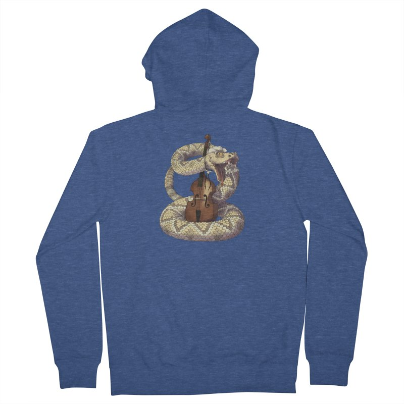 D is for Diamondback Men's Zip-Up Hoody by mcthrill's Artist Shop