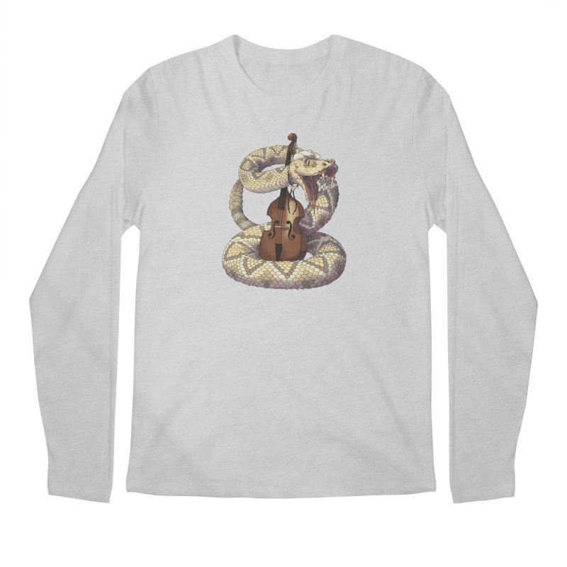 D is for Diamondback Men's Longsleeve T-Shirt by mcthrill's Artist Shop