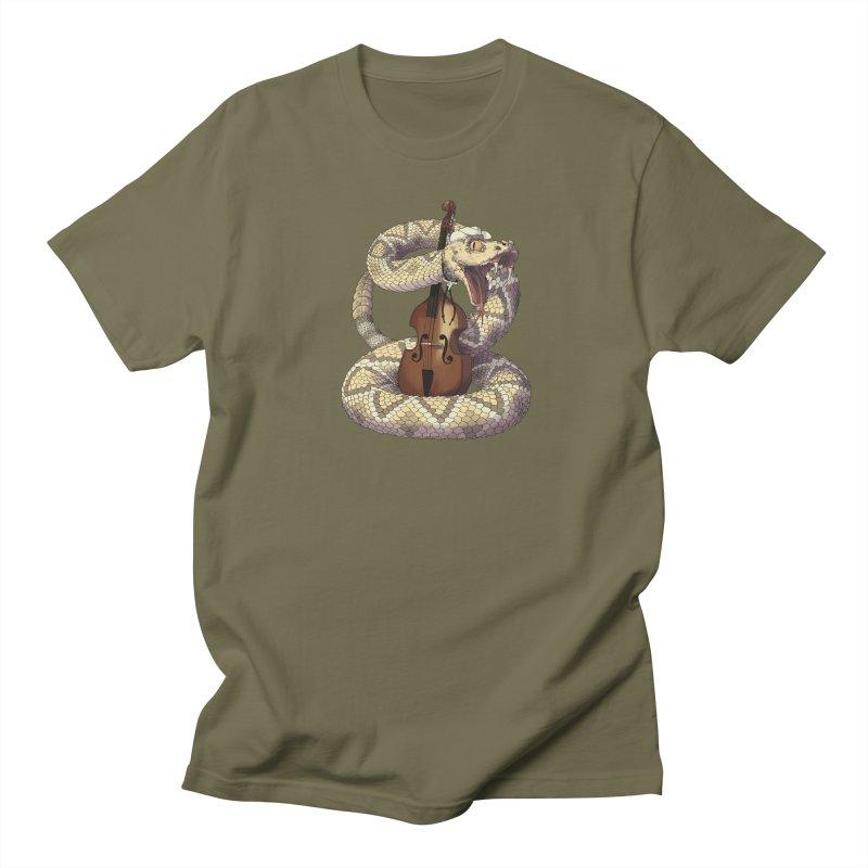 D is for Diamondback Men's Regular T-Shirt by mcthrill's Artist Shop