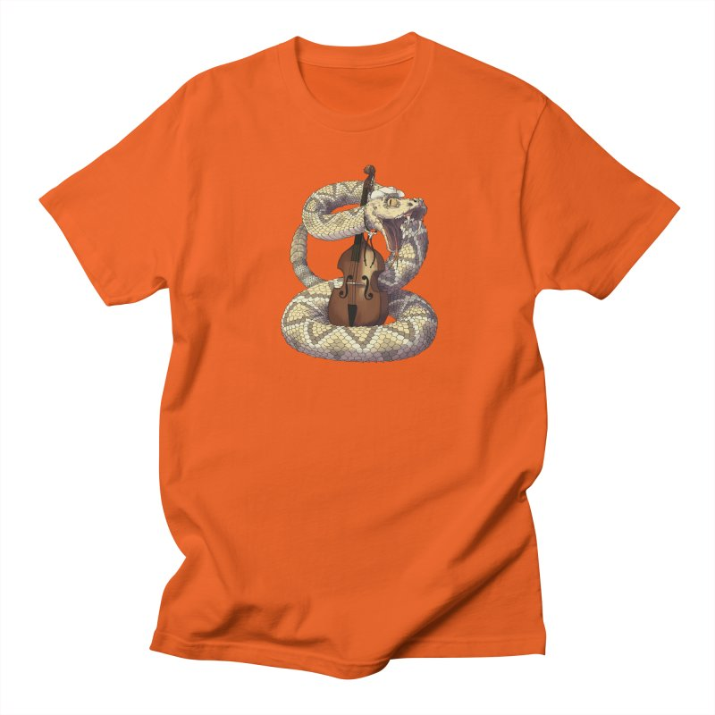 D is for Diamondback Men's T-Shirt by mcthrill's Artist Shop