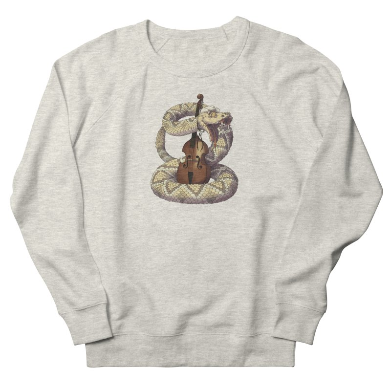 D is for Diamondback Women's French Terry Sweatshirt by mcthrill's Artist Shop