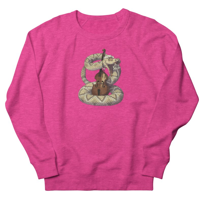 D is for Diamondback Men's French Terry Sweatshirt by mcthrill's Artist Shop