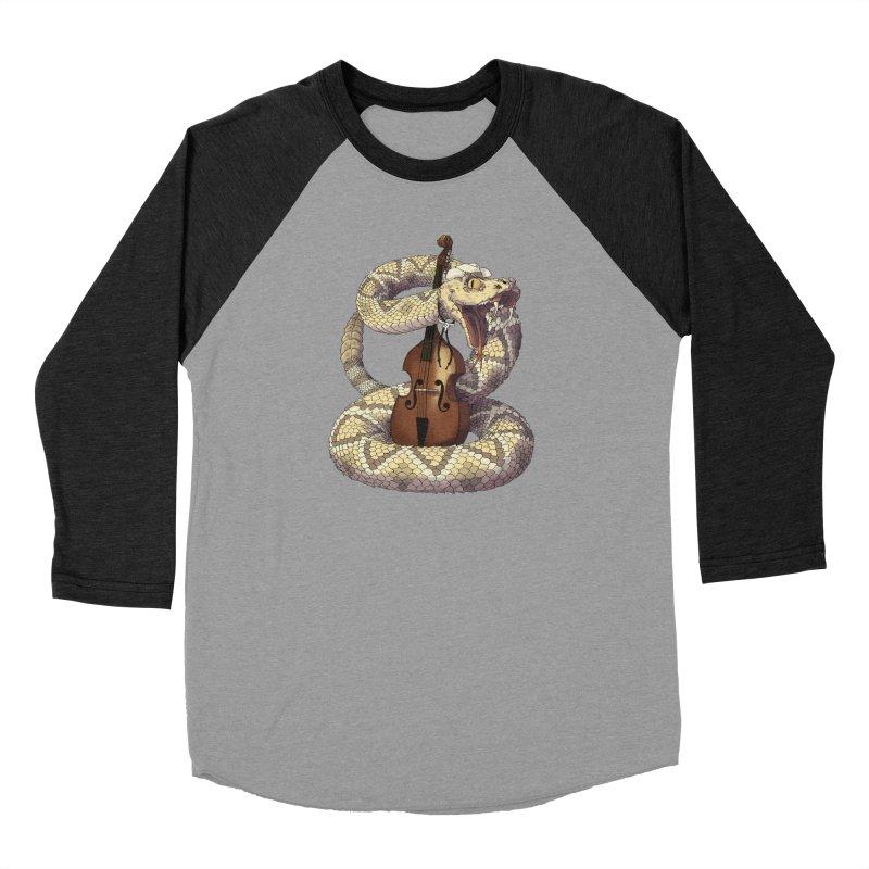 D is for Diamondback Women's Baseball Triblend Longsleeve T-Shirt by mcthrill's Artist Shop