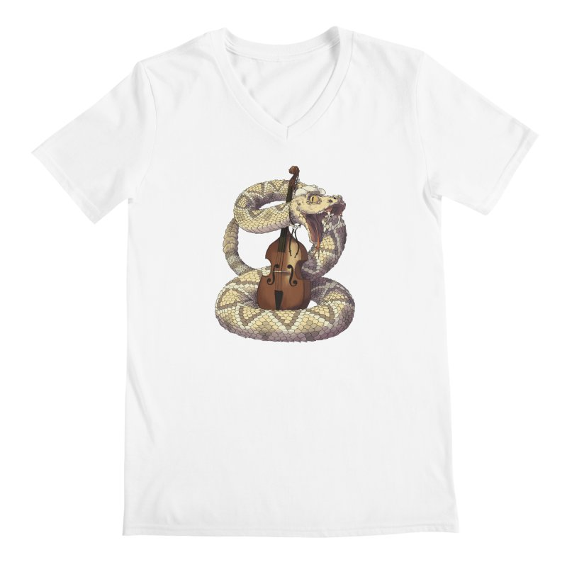 D is for Diamondback Men's Regular V-Neck by mcthrill's Artist Shop