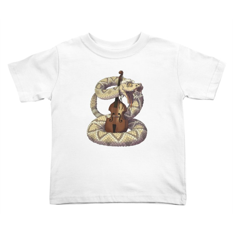 D is for Diamondback Kids Toddler T-Shirt by mcthrill's Artist Shop