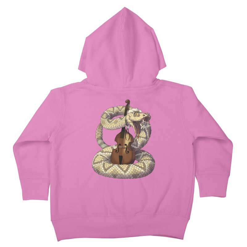 D is for Diamondback Kids Toddler Zip-Up Hoody by mcthrill's Artist Shop