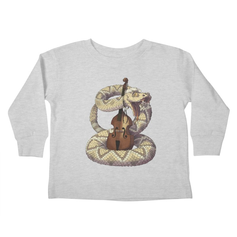 D is for Diamondback Kids Toddler Longsleeve T-Shirt by mcthrill's Artist Shop