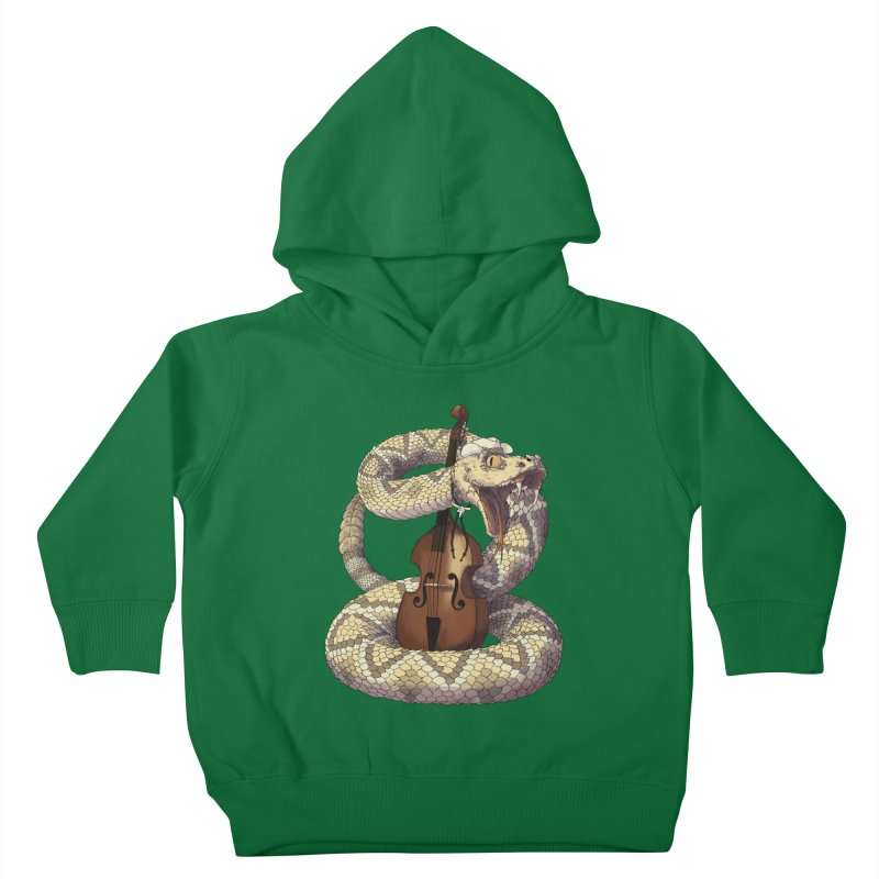 D is for Diamondback Kids Toddler Pullover Hoody by mcthrill's Artist Shop