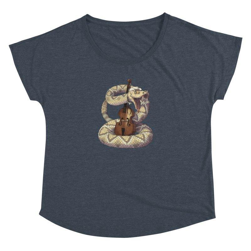 D is for Diamondback Women's Dolman Scoop Neck by mcthrill's Artist Shop