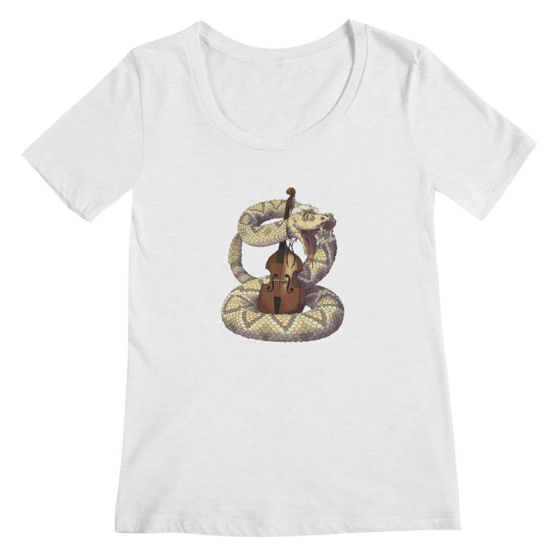 D is for Diamondback Women's Scoopneck by mcthrill's Artist Shop