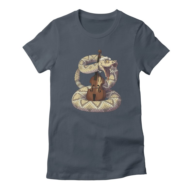 D is for Diamondback Women's T-Shirt by mcthrill's Artist Shop