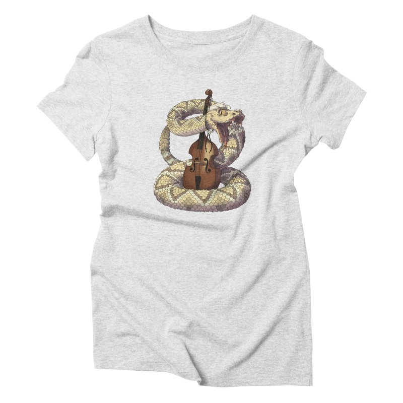 D is for Diamondback Women's Triblend T-Shirt by mcthrill's Artist Shop