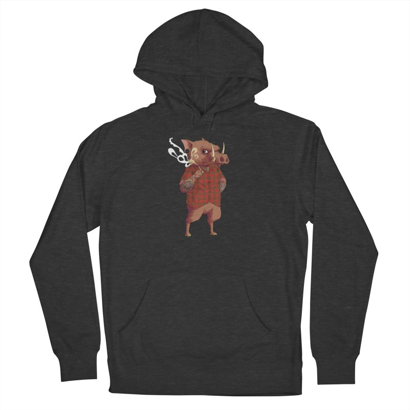 B is for Babirusa Women's Pullover Hoody by mcthrill's Artist Shop