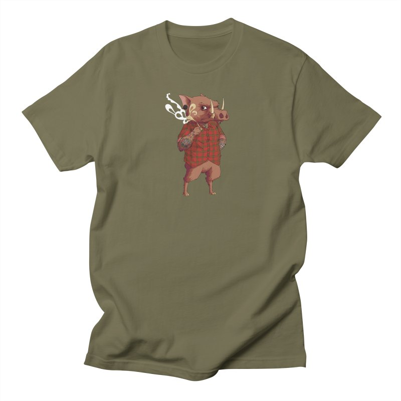 B is for Babirusa Men's T-Shirt by mcthrill's Artist Shop