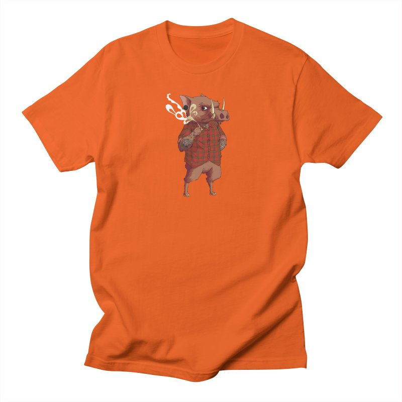 B is for Babirusa Men's Regular T-Shirt by mcthrill's Artist Shop