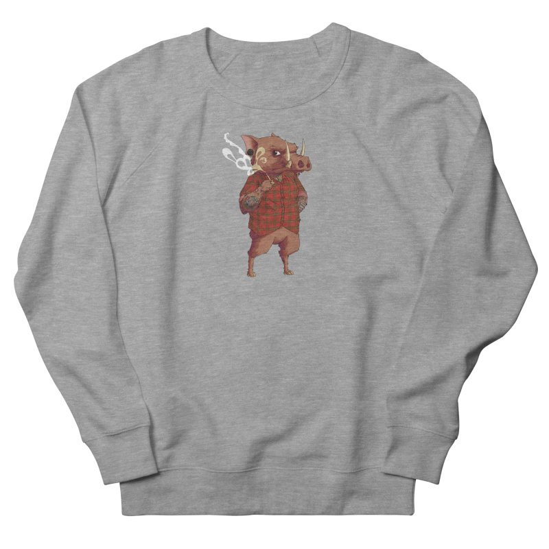 B is for Babirusa Men's Sweatshirt by mcthrill's Artist Shop