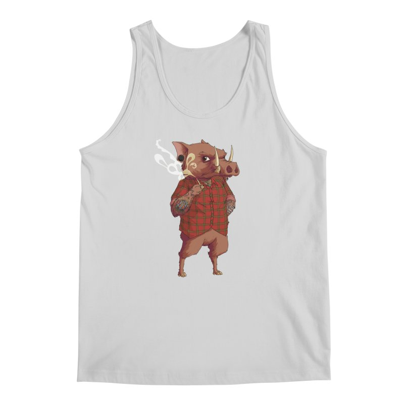 B is for Babirusa Men's Regular Tank by mcthrill's Artist Shop