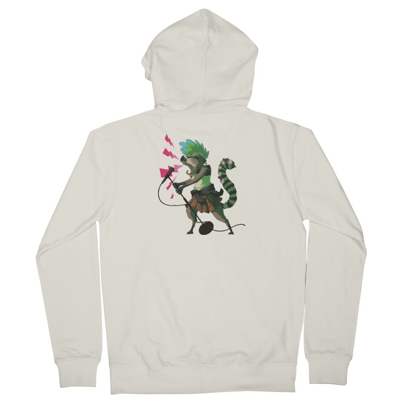 C is for Coatimundi Men's Zip-Up Hoody by mcthrill's Artist Shop