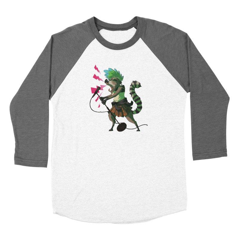 C is for Coatimundi Women's Baseball Triblend T-Shirt by mcthrill's Artist Shop