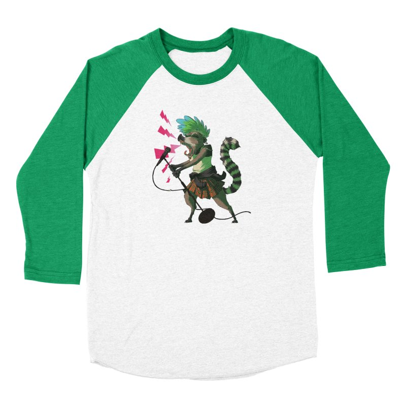 C is for Coatimundi Women's Baseball Triblend Longsleeve T-Shirt by mcthrill's Artist Shop