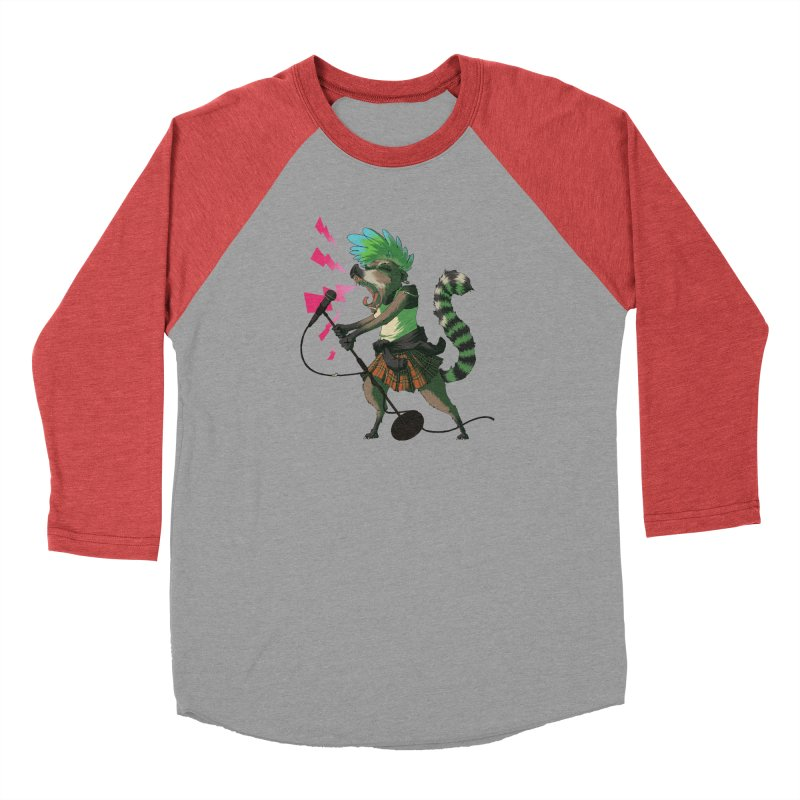 C is for Coatimundi Men's Baseball Triblend T-Shirt by mcthrill's Artist Shop