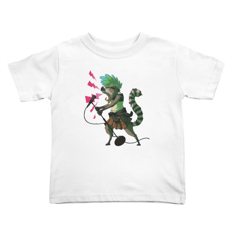 C is for Coatimundi Kids Toddler T-Shirt by mcthrill's Artist Shop
