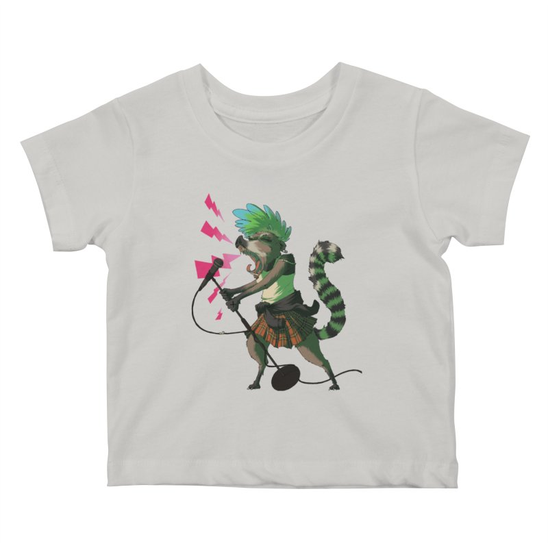 C is for Coatimundi Kids Baby T-Shirt by mcthrill's Artist Shop