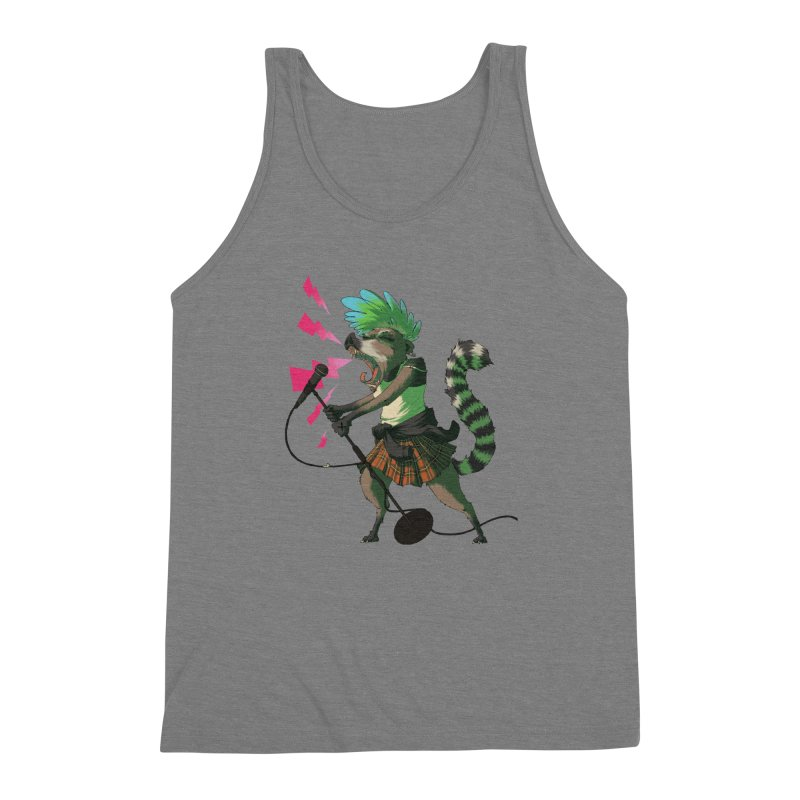 C is for Coatimundi Men's Triblend Tank by mcthrill's Artist Shop