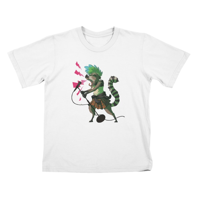 C is for Coatimundi Kids T-Shirt by mcthrill's Artist Shop